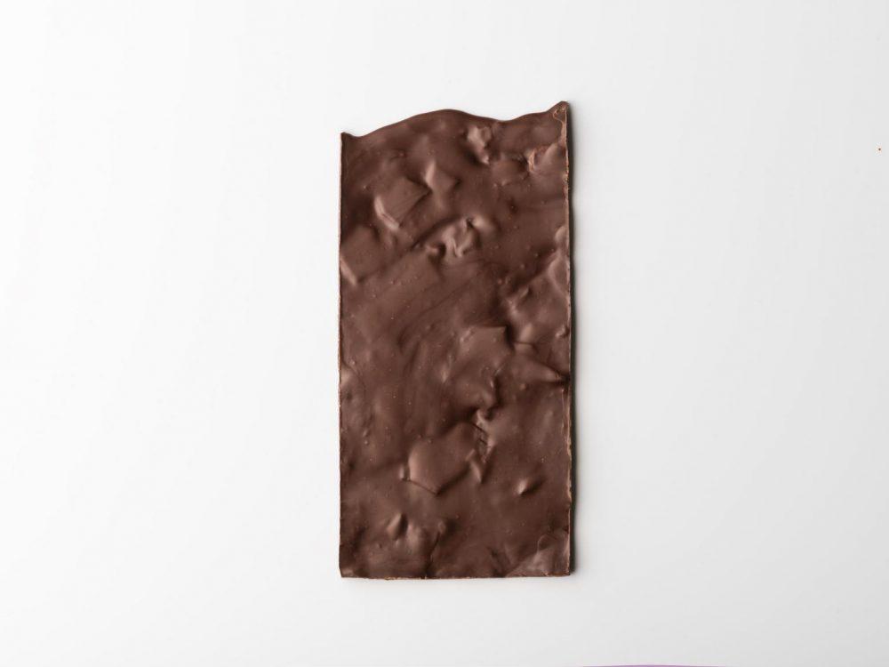 שוקולד מריר עם שברי קרמל