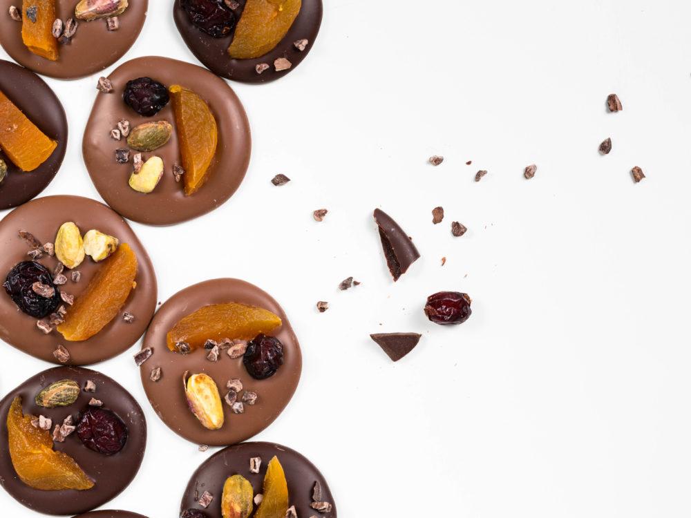 מטבעות שוקולד חלב/מריר